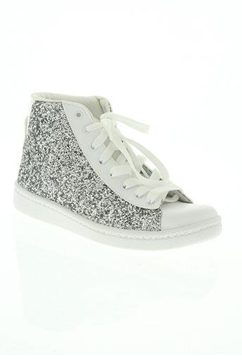 morgan chaussures femme de couleur blanc