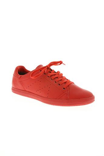 tamaris chaussures femme de couleur rouge