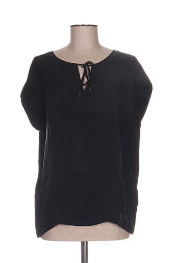 ekyog chemises femme de couleur noir