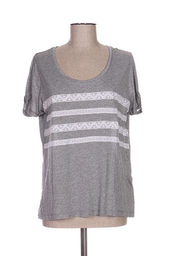 ekyog t-shirts femme de couleur gris