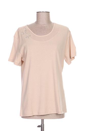 griffon chemises femme de couleur beige