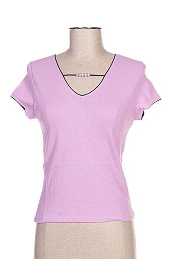 arti maglia chemises femme de couleur violet