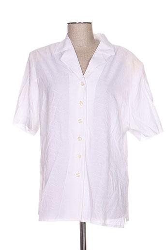 jean biolay chemises femme de couleur blanc