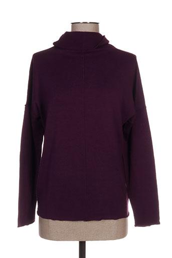 sobosibio pulls femme de couleur violet