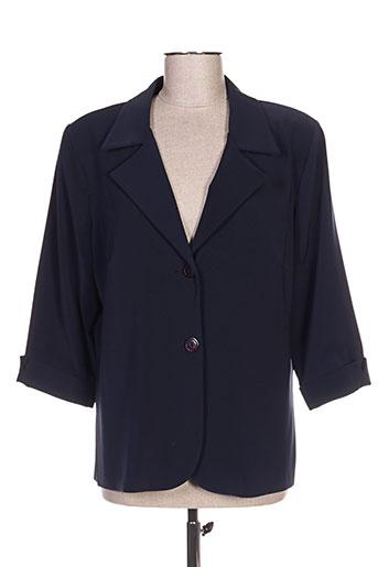 meja vestes femme de couleur bleu