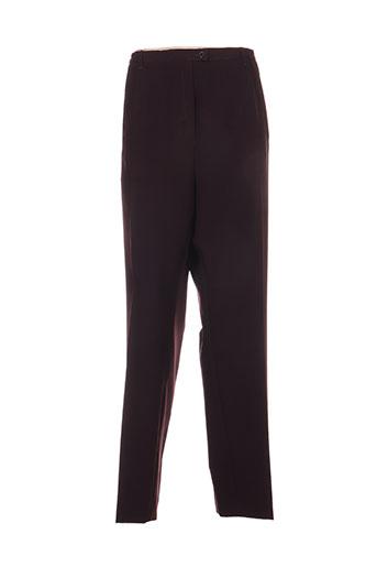 griffon pantalons femme de couleur violet