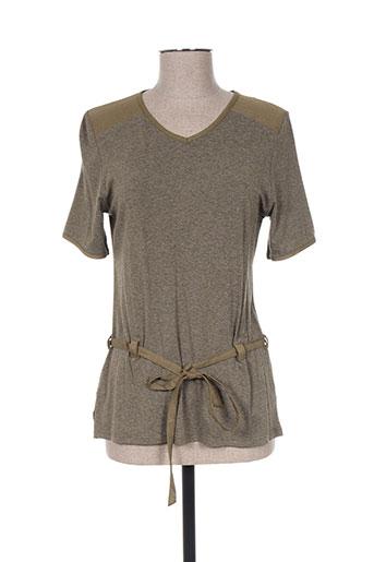 griffon chemises femme de couleur vert