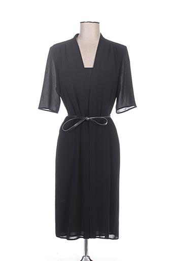 hugo boss robes femme de couleur noir
