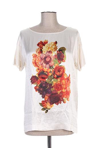 hugo boss chemises femme de couleur blanc