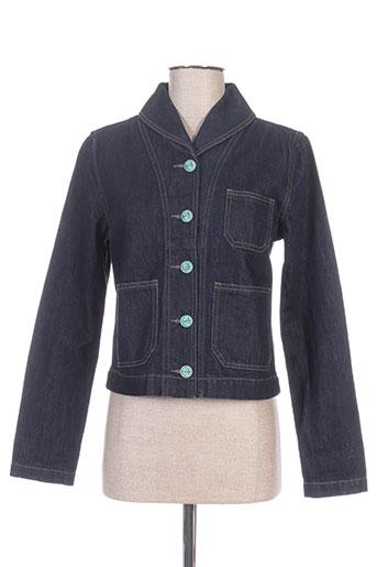 ralph lauren vestes femme de couleur bleu
