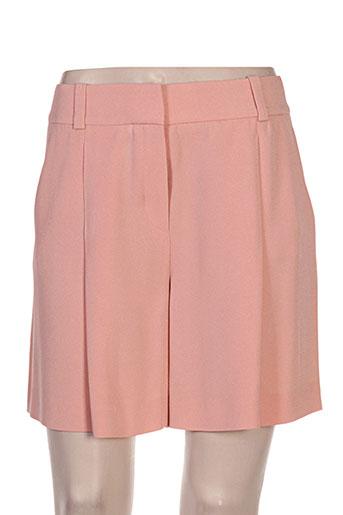 hugo boss shorts / bermudas femme de couleur rose