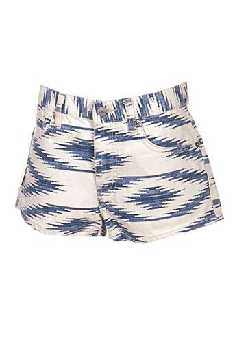 ralph lauren shorts / bermudas femme de couleur bleu