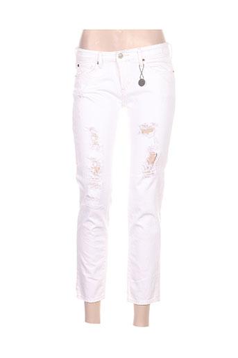 ralph lauren jeans femme de couleur blanc
