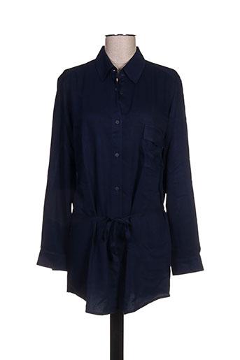 et liza... tuniques femme de couleur bleu