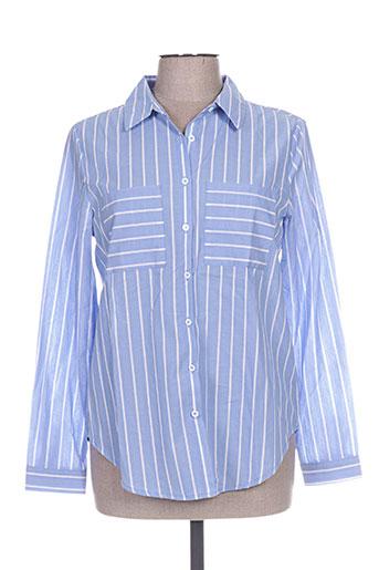 kilky chemises femme de couleur bleu