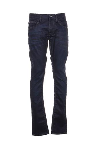 garcia jeans homme de couleur bleu