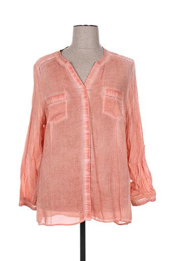 no secret chemises femme de couleur orange