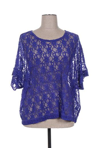 kjbrand chemises femme de couleur bleu