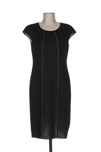 luisa cerano robes femme de couleur noir