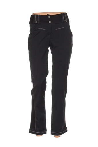 Pantalon chic gris E-BRYDE pour femme