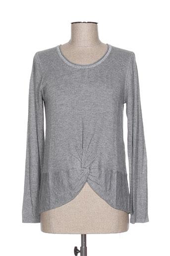imitz pulls femme de couleur gris