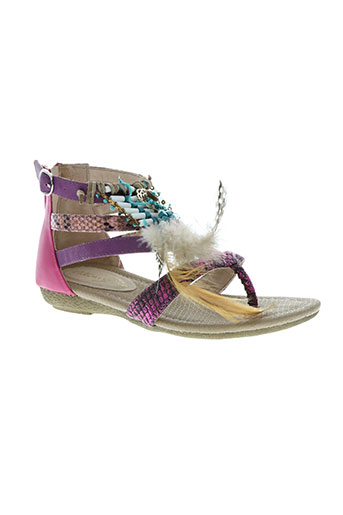 metamorf'ose chaussures fille de couleur rose