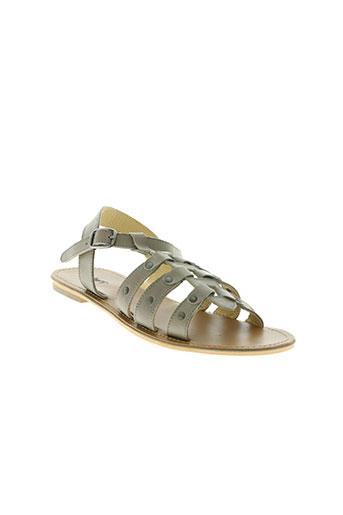 bopy chaussures femme de couleur gris