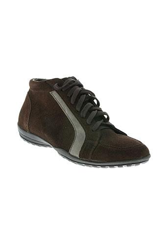 botanas chaussures homme de couleur marron