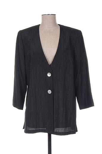 francoise vestes femme de couleur noir
