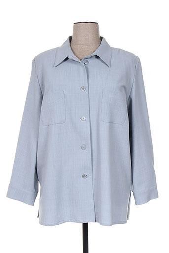 gerard pasquier vestes femme de couleur bleu