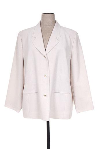 francoise de france vestes femme de couleur beige