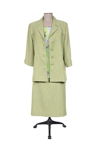 nonet ensemble femme de couleur vert