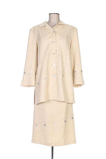 Veste/jupe beige FRANCOIE F pour femme