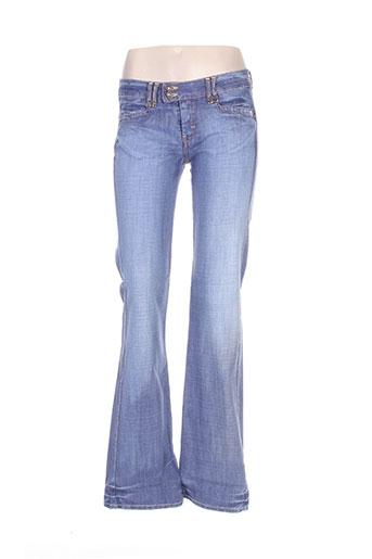 used jeans jeans femme de couleur bleu