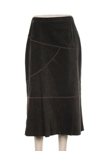 regine jupes femme de couleur marron