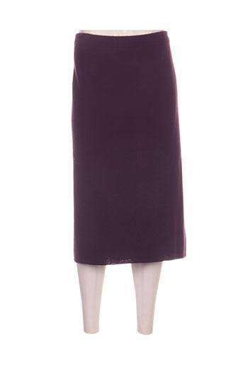 regine jupes femme de couleur violet
