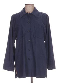 Veste casual bleu REGINE pour femme