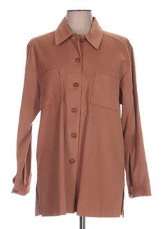 Veste casual marron REGINE pour femme