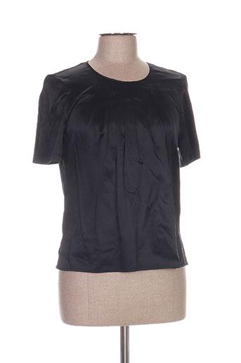 villa bleue chemises femme de couleur noir