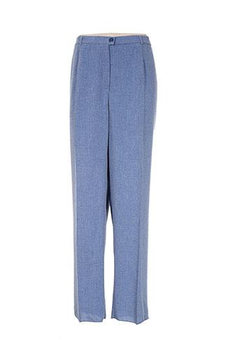 Pantalon chic bleu KARTING pour femme