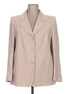 Veste chic / Blazer beige REGINE pour femme