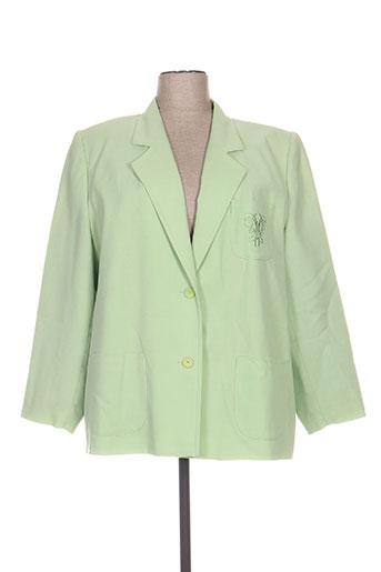 Veste chic / Blazer vert FRANCOISE DE FRANCE pour femme
