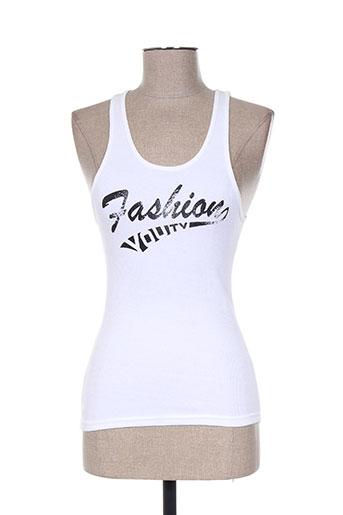 you t-shirts femme de couleur blanc