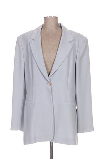 Veste chic / Blazer bleu ANTONELLE pour femme
