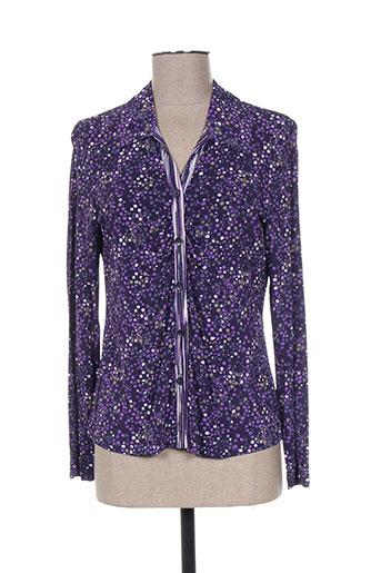mayerline chemises femme de couleur violet