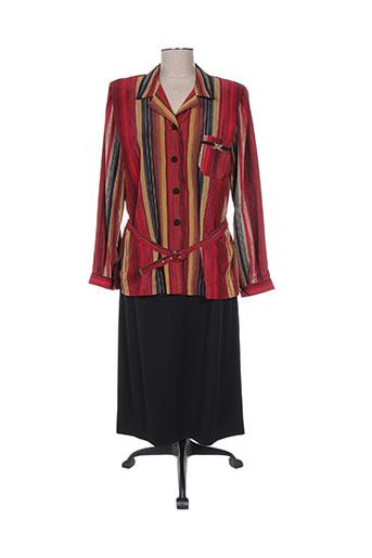 Veste/robe rouge REGINE pour femme