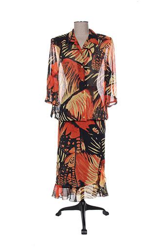 Veste/jupe orange COUTUREINE pour femme