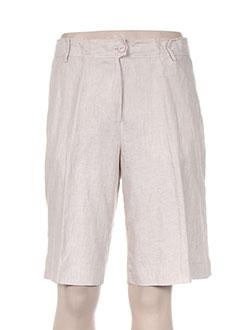 Produit-Shorts / Bermudas-Femme-SEIDEN STICKER
