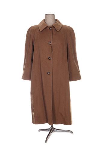 fashion manteaux femme de couleur marron