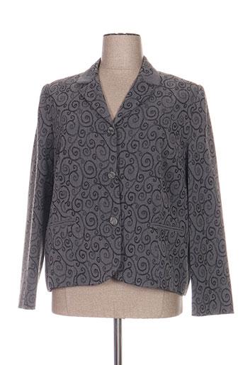 creations sonia vestes femme de couleur gris